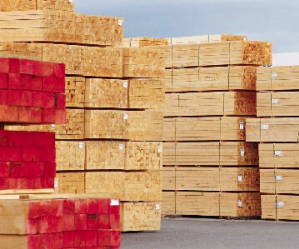 Pinewood pallets A grade timber stock