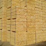 pine wood pallet elements boards stacked up outdoor
