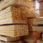 warehouse indoor timber stock